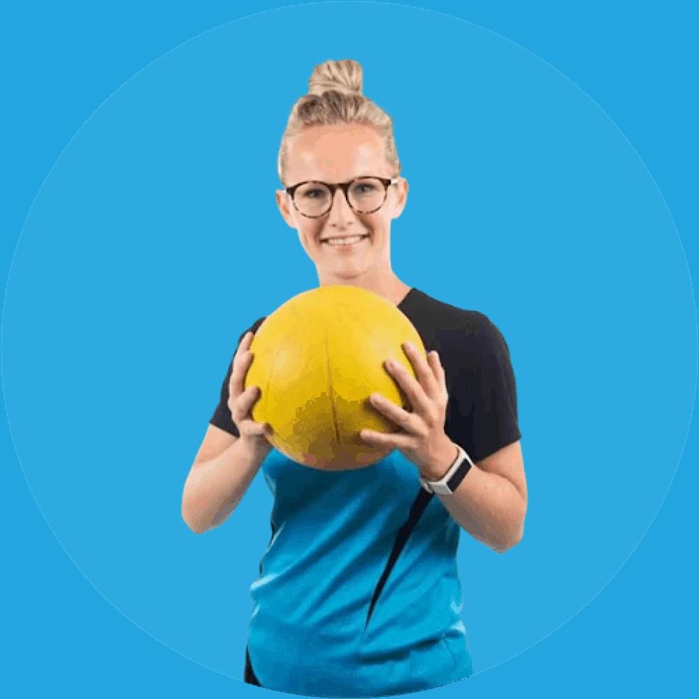 Evelyn Fitnessinstructeur Palestra Dokkum